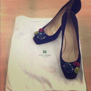 Kate Spade jeweled heels